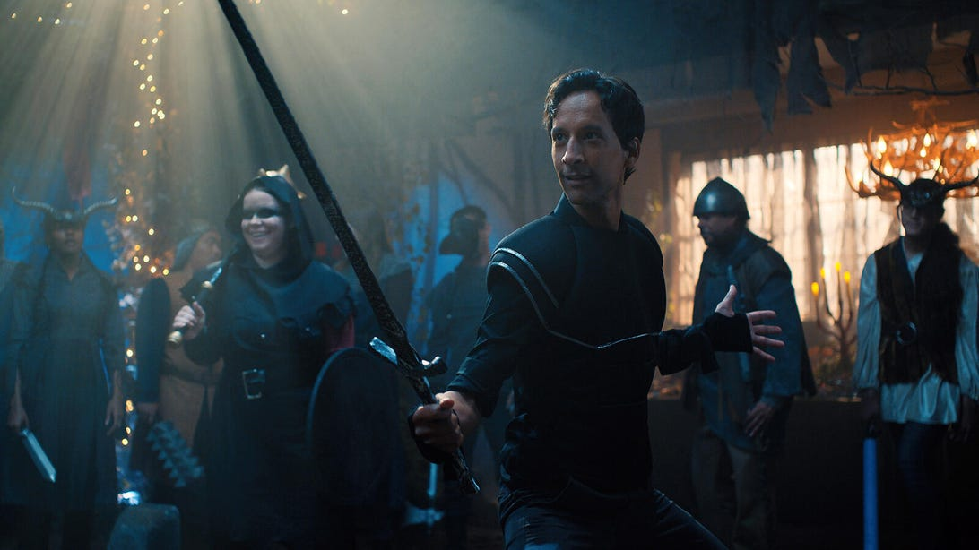Jessie Ennis and Danny Pudi, Mythic Quest
