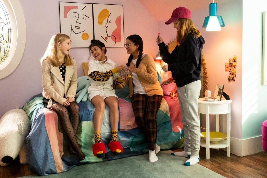 Shay Rudolph, Momona Tamada, Malia Baker, Sophie Grace, The Baby-Sitters Club