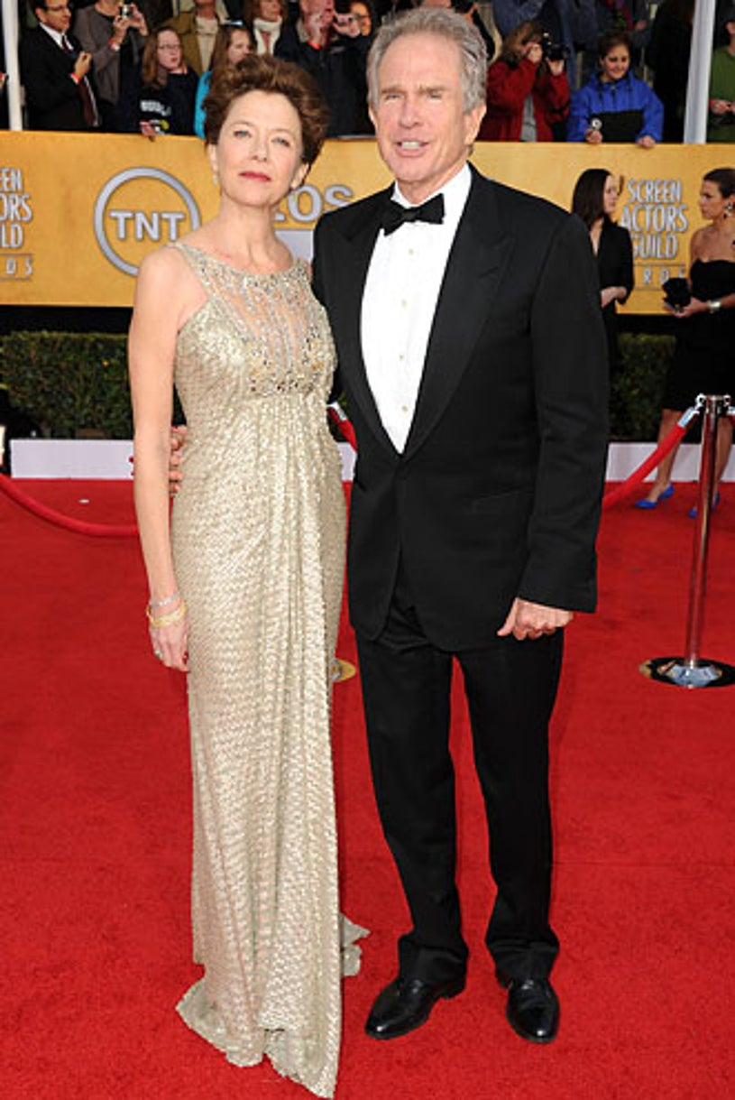 Annette Bening and Warren Beatty - The 17th Annual Screen Actors Guild Awards, January 30, 2011