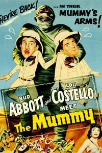 Abbott and Costello Meet the Mummy as Newspaperman