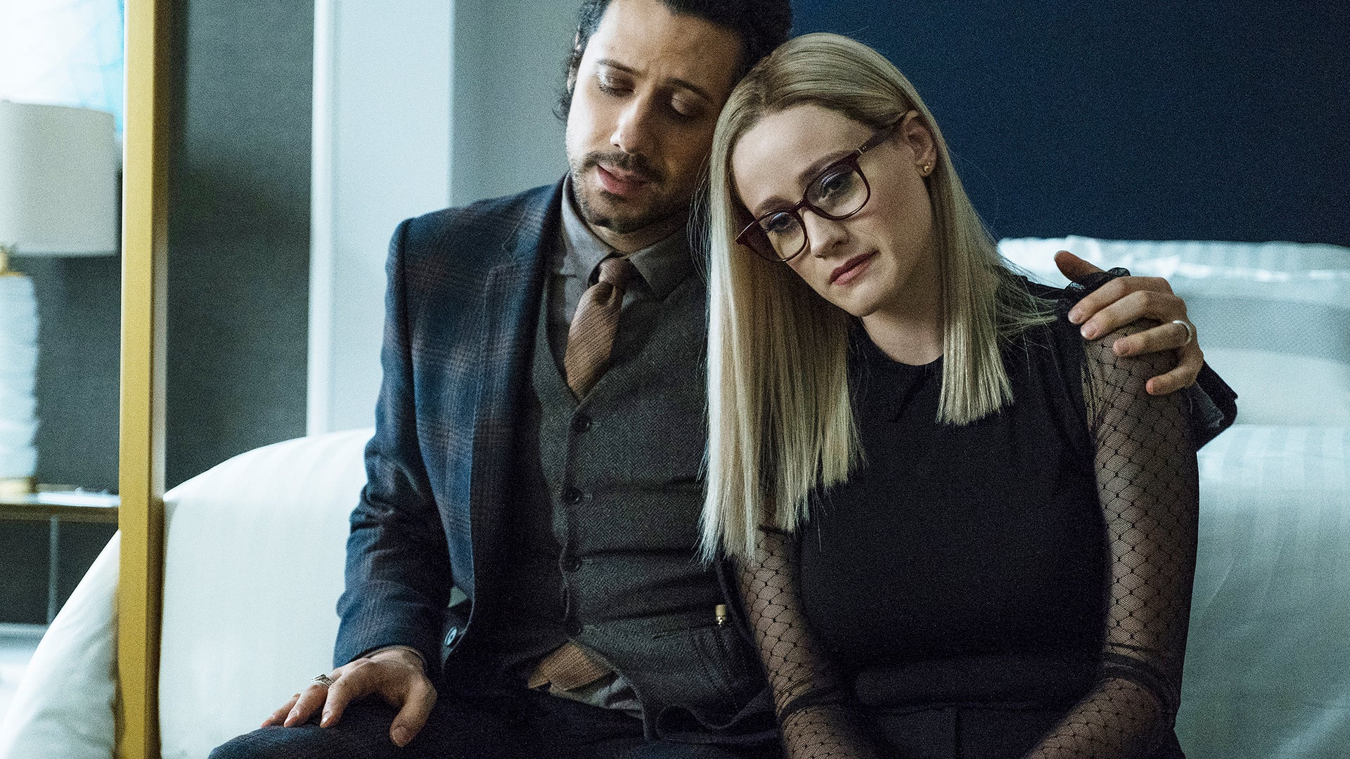 Hale Appleman and Olivia Taylor Dudley, The Magicians
