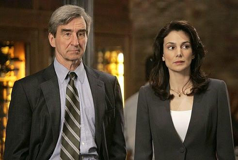 Law & Order - Sam Waterston and Annie Parisse