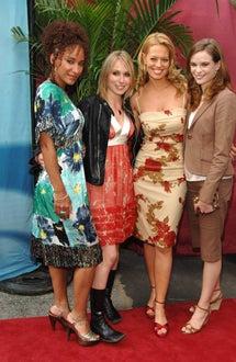 Sophina Brown, Sarah Carter, Jeri Ryan and Danielle Panabaker - CBS Upfront, May 2006