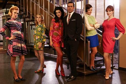Mad Men - Season 7 - January Jones, Kiernan Shipka, Jessica Pare, Jon Hamm, Elisabeth Moss, Christina Hendricks