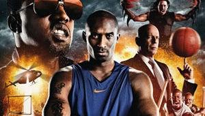 Kobe Bryant Strikes With The Black Mamba