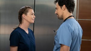 Grey's Anatomy Took Elevator Foreplay to Another Level in the Winter Premiere