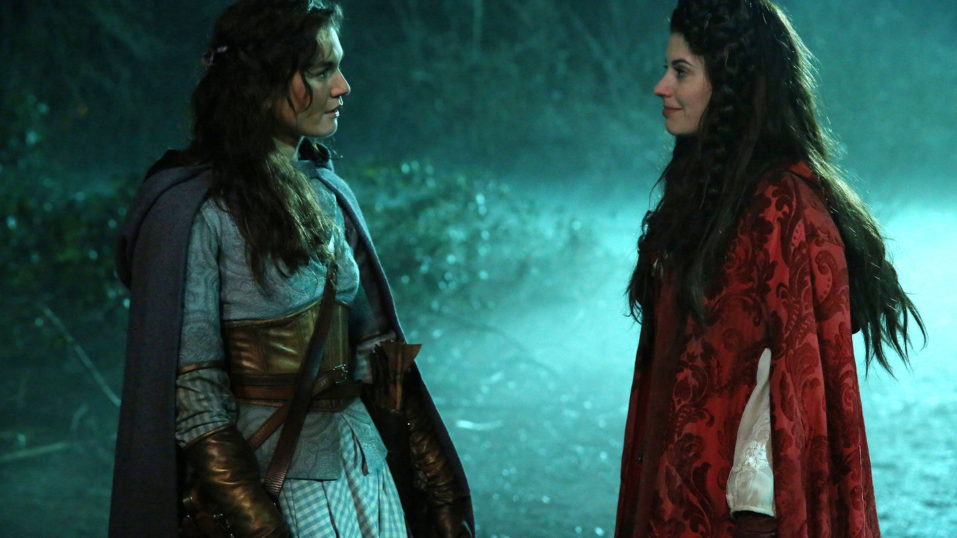 Teri Reeves and Meghan Ory, Once Upon a Time