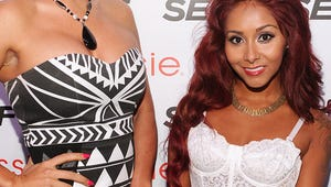 Neighbors Try to Block Snooki and J-Woww Filming