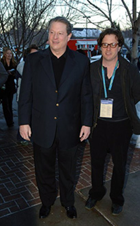 "Al Gore and Davis Guggenheim - ""An Inconvenient Truth"" premiere, Jan. 2006"