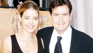 Charlie Sheen Chops Up Souvenir From Wedding to Denise Richards