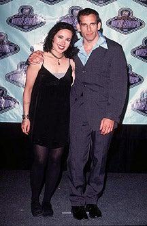 Janeane Garofalo and Ben Stiller - The 1996 MTV Movie Awards, June 8, 1996