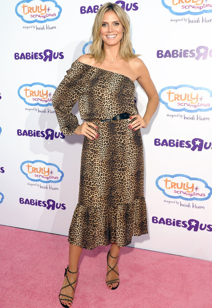 "Heidi Klum - Heidi Klum Unveils her Truly Scrumptious collection at Babies ""R"" Us in New York City, August 15, 2012"