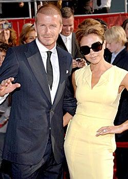 David Beckham and Victoria Beckham - The 2008 ESPY Awards in Los Angeles, July 16, 2008