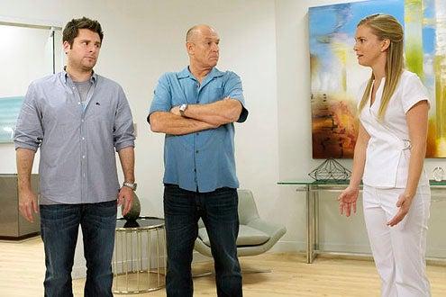 "Psych - Season 7 - ""Nip and Suck It"" - James Roday and Corbin Bernsen"