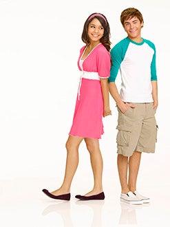 High School Musical 2 - Vanessa Hudgens as Gabriella Montez and Zac Efron as Troy Bolton