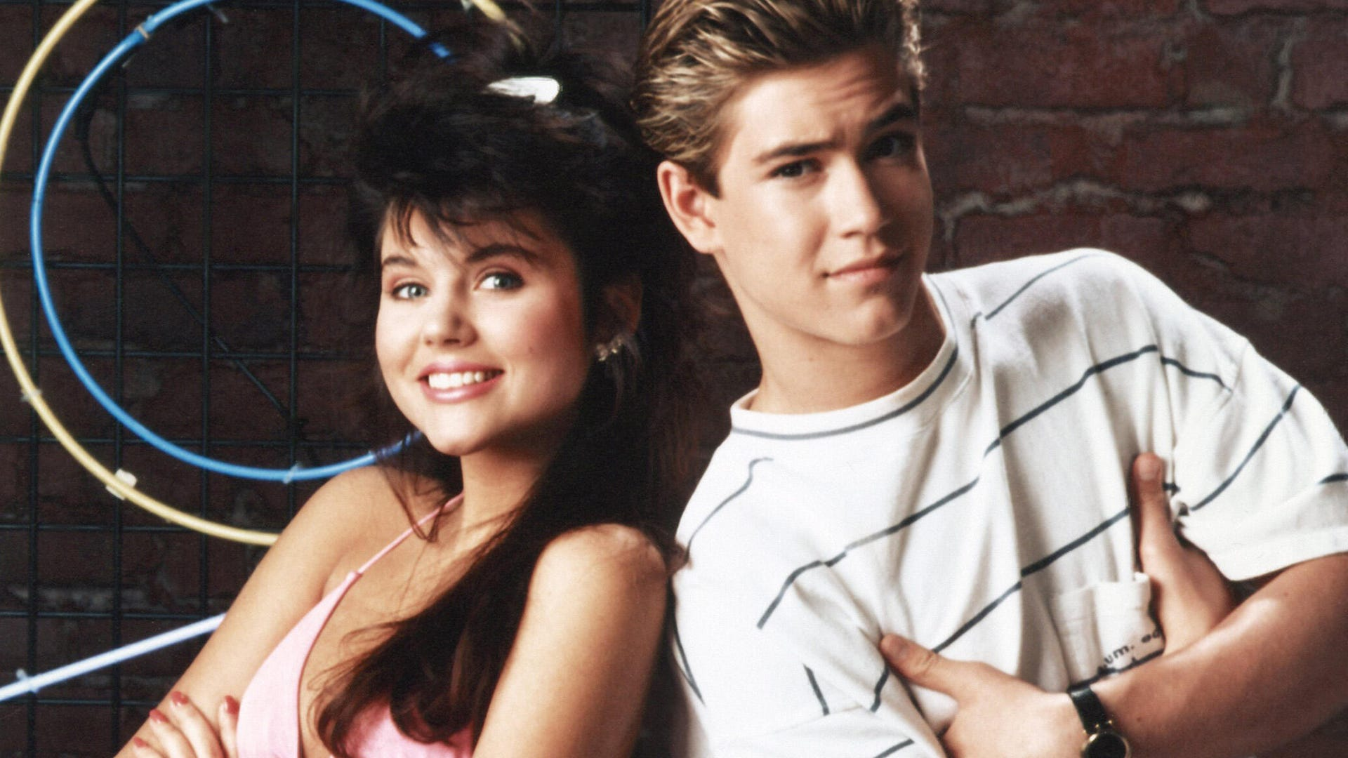 Tiffany Thiessen and Mark-Paul Gosselaar, Saved by the Bell
