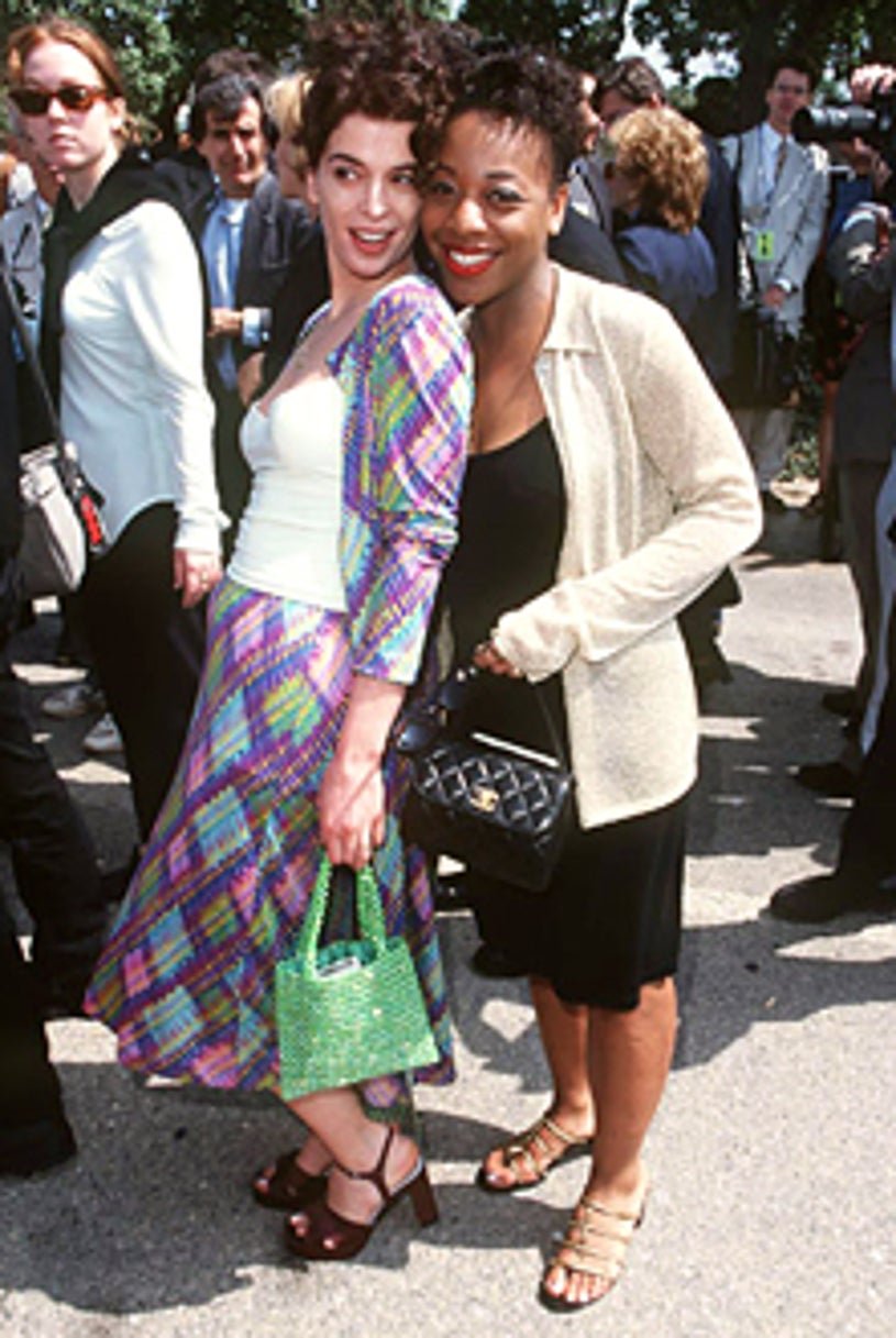 Marianne Jean-Baptiste and Annabella Sciorra - The 12th Annual IFP/West Independent Spirit Awards - March 1997
