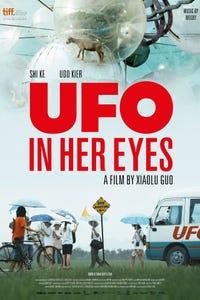 UFO in her Eyes as Steve Frost