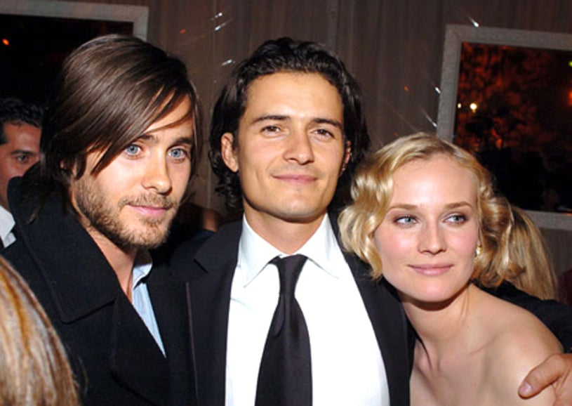 Jared Leto, Orlando Bloom and Diane Kruger - Glamour/Miramax Golden Globes Party, January 16, 2005