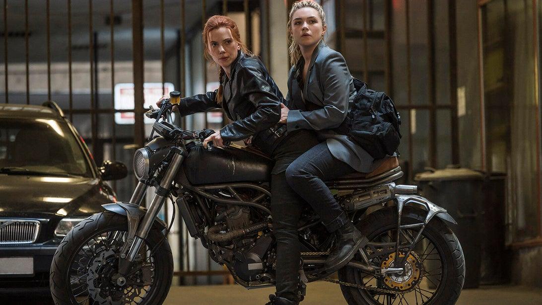 Scarlett Johansson and Florence Pugh, Black Widow