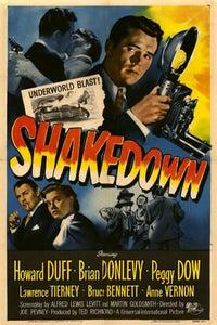 Shakedown as Newsboy