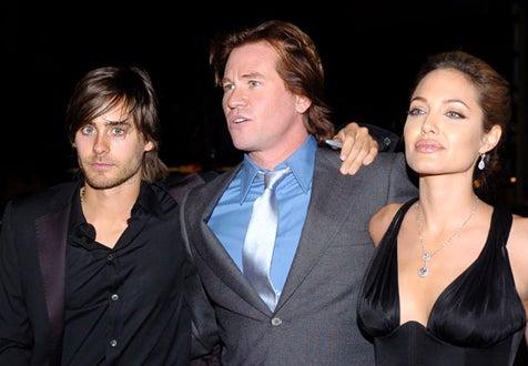 "Jared Leto, Val Kilmer and Angelina Jolie - ""Alexander""  premiere, November 16, 2004"