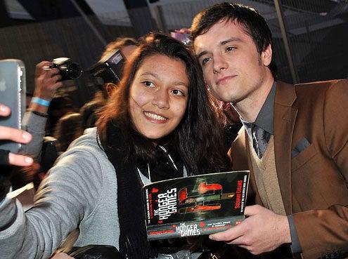 Josh Hutcherson - The European premiere of The Hunger Games in London, March 14, 2012