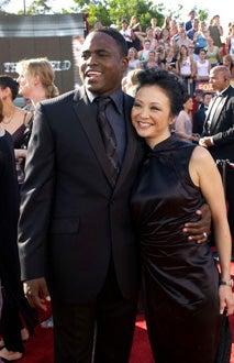 Wayne Brady and Wife - Primetime Emmy Awards, Sept. 2003