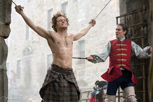 Outlander - Season 1 - Sam Heughan and Tobias Menzies