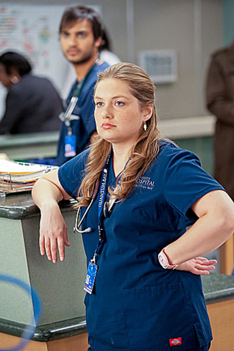 """Nurse Jackie - Season 4 - """"Are Those Feathers?"""" - Merritt Weaver"""