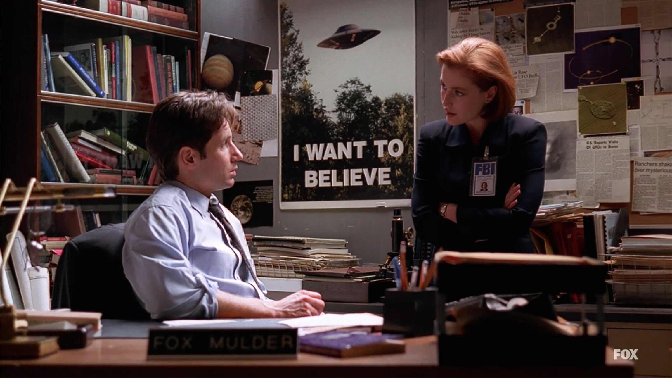 Gillian Anderson and David Duchovny, The X-Files