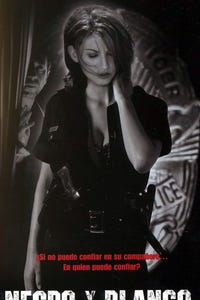 Black & White as Lady Cop