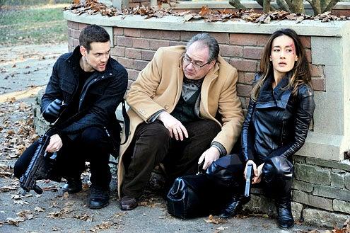 "Nikita - Season 3 - ""Brave New World"" - Shane West, John Billingsley and Maggie Q"