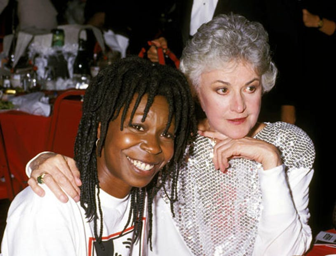 Whoopi Goldberg and Bea Arthur - 1st Annual Comedy Awards, Hollywood, CA, May 19, 1987
