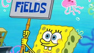 SpongeBob SquarePants Shows It's Not Easy Being Yellow on Earth Day