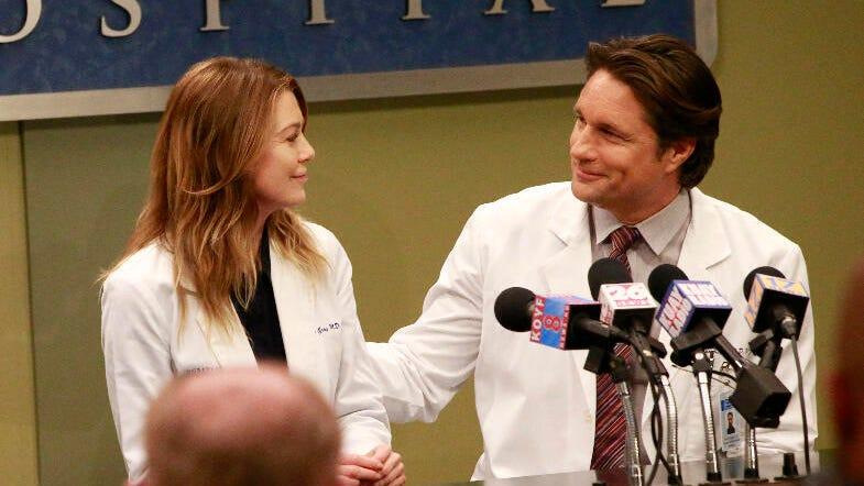 Ellen Pompeo, Martin Henderson, Grey's Anatomy