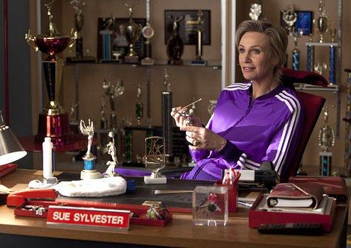 "Glee - Season 3 - ""The Spanish Teacher"" - Jane Lynch as Sue"