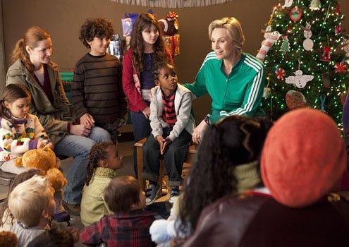 "Glee - Season 3 - ""Extraordinary Merry Christmas"" - Jane Lynch as Sue"
