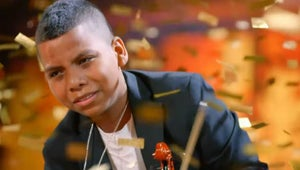 Amazing 11-Year-Old Violinist Earns Simon Cowell's Golden Buzzer on America's Got Talent