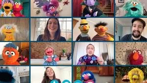 Elmo's Social Distance Playdate with Lin Manuel-Miranda Is Hand Washing for the Soul