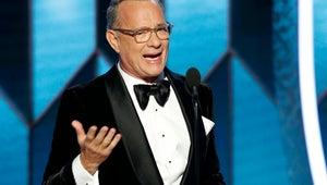 Tom Hanks Chokes Up During Golden Globes Cecil B. DeMille Award Speech