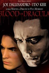 Andy Warhol's Dracula as Count Dracula
