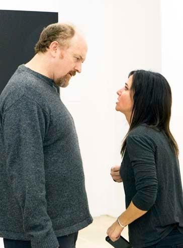 """Louie - Season 4 - """"Pamela Part 2 """" - Louis C.K. and Pamela Adlon"""