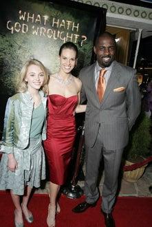 "AnnaSophia Robb, Hilary Swank and Idris Elba - ""The Reaping"" Los Angeles premiere, March 29, 2007"