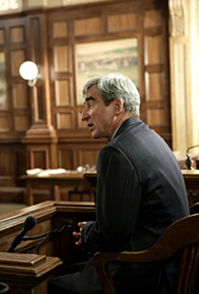 "Law & Order - Season 18, ""Illegal"" - Sam Waterston as D.A. Jack McCoy"