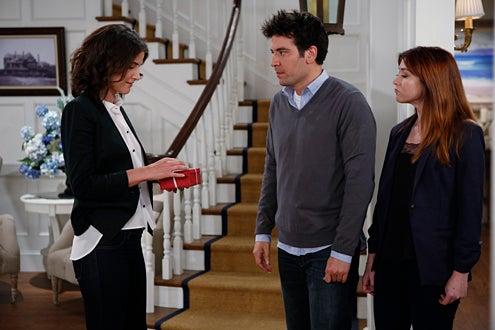 "How I Met Your Mother - Season 9 - ""The Locket"" - Cobie Smulders, Josh Radnor, Alyson Hannigan"