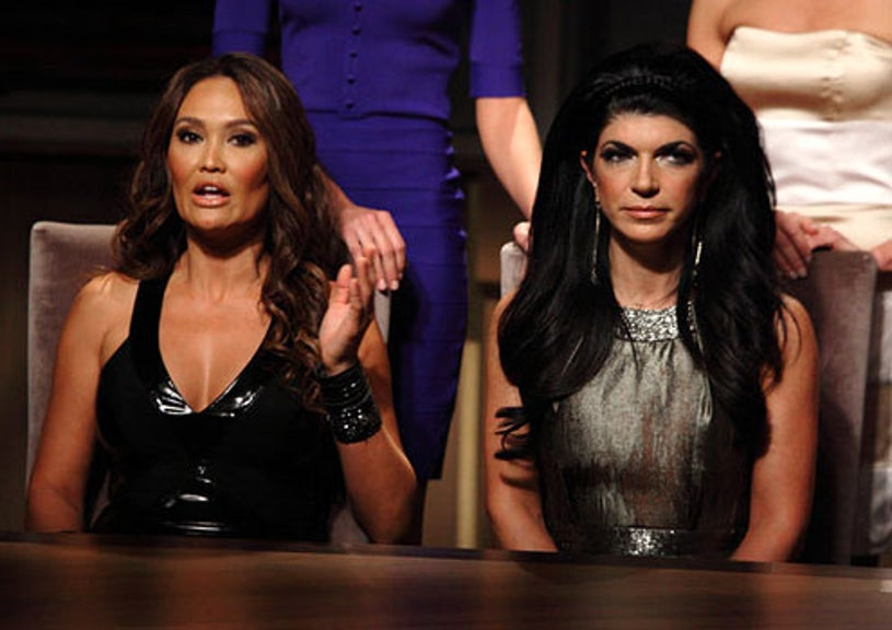"""The Celebrity Apprentice - Season 12 - """"I'm Going To Mop The Floor With You"""" - Tia Carrere and Teresa Guidice"""