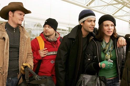Entourage - Kevin Dillon, Jerry Ferrara, Adrian Grenier and Debi Mazar