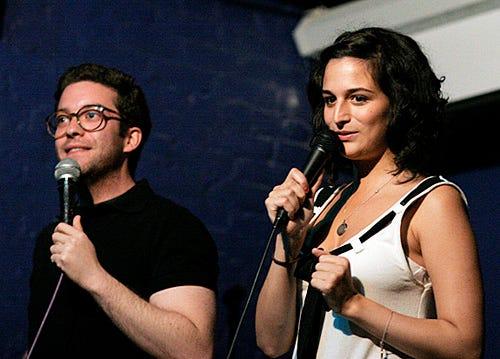Gabe Liedman and Jenny Slate - Rififi - New York, NY - July 31, 2008
