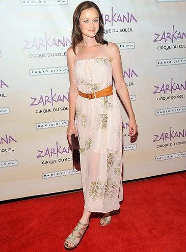 "Alexis Bledel - The Cirque Du Soleil ""Zarkana"" opening night in New York City, June 29, 2011"